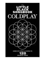 Little Black Book of Coldplay ...