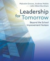 Leadership for Tomorrow: Beyond the...