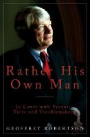 Rather His Own Man: In Court with...