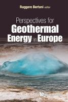 Perspectives For Geothermal Energy In...
