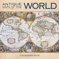 2018 Antique Maps of the World Wall...