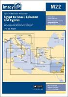 Imray Chart M22: Egypt to Israel,...