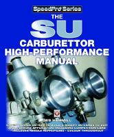 The SU Carburettor High Performance...