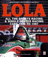 LOLA - All the Sports Racing Cars...