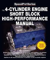 The 4-Cylinder Engine Short Block...