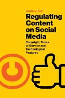 Regulating Content on Social Media:...