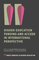 Higher Education Funding and Access ...