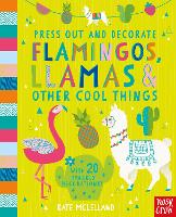 Press Out and Decorate: Flamingos,...