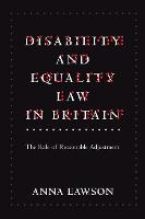 Disability and Equality Law in...