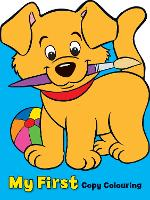 My First Colouring Book: Dog