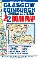 Central Scotland Road Map