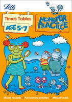 Times Tables Age 5-7 (Letts Monster...