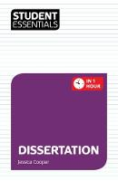 Student Essentials: Dissertation: In...