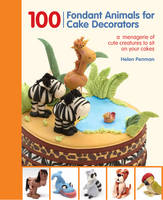 100 Fondant Animals for Cake...