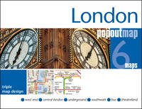 London Popout Map: 3 Popout Maps in...
