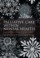 Palliative Care within Mental Health:...