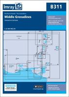 Imray Chart B311: Middle Grenadines