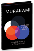 Colorless Tsukuru Tazaki And His Years Of Pilgrimage - Foyles limited edition