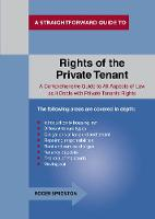 The Rights of the Private Tenant: A...