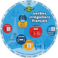 French irregular verbs wheel