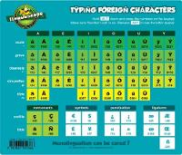 Typing Foreign Characters (mouse Mat)