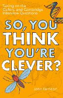 So, You Think You're Clever?: Taking...