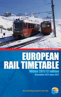 European Rail Timetable: Winter: 2011/12