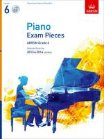 Piano Exam Pieces 2013 & 2014, ABRSM...