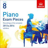 Piano Exam Pieces ABRSM Grade 8:...