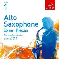Alto Saxophone Exam Pieces 2014 CD,...
