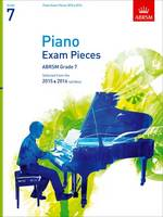 Grade 7 2015 & 2016 Piano Exam Pieces