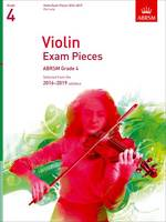 Violin Exam Pieces 2016-2019, Abrsm...