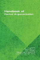 Handbook of Formal Argumentation