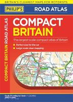 Philip's Compact Britain Road Atlas:...