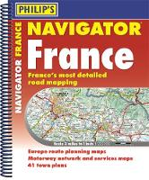 Philip's Navigator Road Atlas France:...