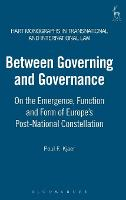 Between Governing and Governance: on...