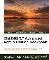 IBM DB2 9.7 Advanced Administration...