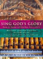 Sing God's Glory: Hymns for Sundays...