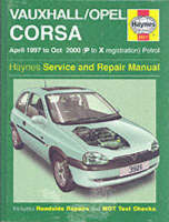 Vauxhall/Opel Corsa Service and ...