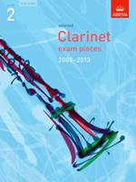 clarinet exam pieces sc/pt grade 2