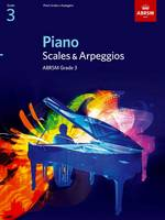 Piano Scales and Arpeggios: Grade 3