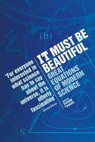 It Must be Beautiful: Great Equations...