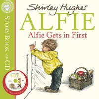 Alfie Gets in First: Book and CD