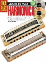 10 Easy Lessons Harmonica Bk/CD:...