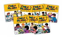 Finger Phonics books 1-7: in...