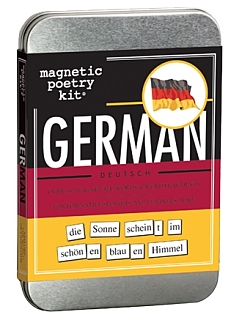 Magnetic Poetry German Kit