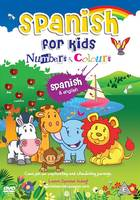 MDG Spanish for kids DVD - Number & colours