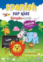 MDG Spanish for kids DVD - Simple words