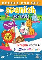 MDG Spanish for kids DVD