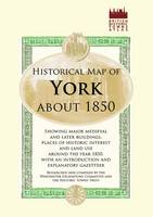 Map of York, C1850